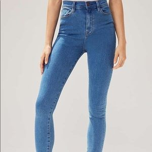 BDG high waisted light denim